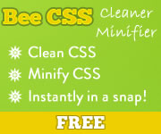 Clean CSS, Minify CSS in a snap - FREE!