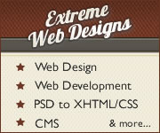 Web Design, Web Development and more. Visit Extreme Web Designs today!