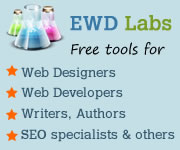 FREE tools for Web Designers, Web Developers, Authors, Writers, SEO specialists and others!